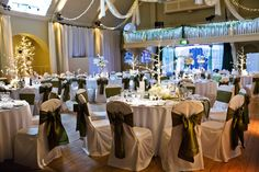 Our glittering ballroom, dressed to impress  Enjoy the blog for this wedding here: http://thebowdonrooms.co.uk/our-wedding-was-a-magical-fairytale/