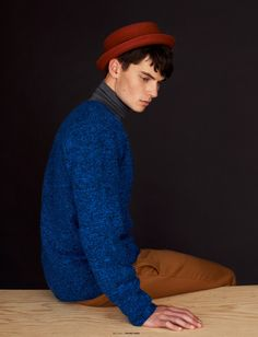 """(viaCarson Hinerin """"Closet Romantic"""" for The Ones2Watch   ph. Lucie Hugary) styling: Omar Thomasgrooming: Heather Blaine"""