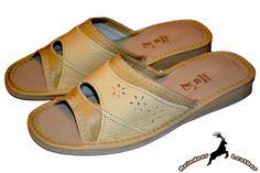 Aga Oak House Leather Slide