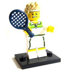 LEGO: Minifigures - Tennis Ace  Lego  Lego www.detoyboys.nl