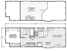 park model plans | Home / Park Models / Cavco Virginia Park Models / 200 Series / 12341L  ~ Great pin! For Oahu architectural design visit http://ownerbuiltdesign.com