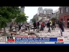 CNN: New Zealand earthquake kills 65 - YouTube