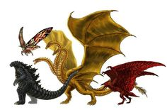There are new leaked figures of Godzilla vs Kong, if you hav - Godzilla: King of the Monsters media photos videos Godzilla Vs Destroyah, Godzilla Franchise, King Kong Vs Godzilla, All Godzilla Monsters, Godzilla Wallpaper, Japanese Monster, The Ancient One, Creature Feature, Jurassic World