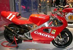 original (not replica) cagiva for sale. Course Moto, Ducati Diavel, Yamaha Bikes, Motorcycle Manufacturers, Classic Bikes, Classic Cars, Moto Bike, Racing Motorcycles, Motorcycle Design