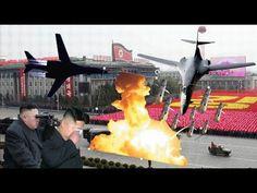 죽음의 백조 B-1 북한 김정은 가장 두려워하는 미국 전략 폭격기 B-1  North Korean Kim Jong Eun Fear...
