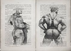 Gay cowboys poster 2 pages / Muscle mans / Printing от LeryPrint