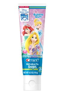 Oral-B|Crest<sup>®</sup> Pro-HealthStages<sup>®</sup> Disney Princess Toothpaste|print