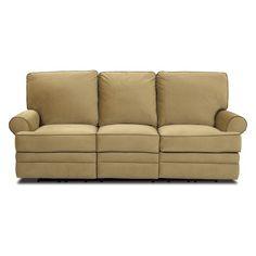 Morris Home Furnishings Belleview Transitional Dual-Reclining Sofa