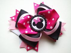 Cute Minnie Mouse Hairbow