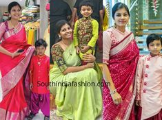Mother Son Matching Indian Outfits, online shopping , mom dad and son matching outfits, family matching ethnic wear, party wear Mother Son Matching Outfits, Mom And Son Outfits, Mom And Baby Dresses, Mother Daughter Matching Outfits, Baby Boy Dress, Twin Outfits, Anarkali, Lehenga, Sarees