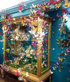 "BERGDORF GOODMAN, New York, ""Flora & Fauna Hall 7th Floor"", pinned by Ton van der Veer"