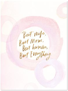 Best Everything Mother's Day Card Birthday Cards For Mother, Mothers Day Cards, Love You Mom, Love Her, Henny Youngman, The Answer To Everything, Wine Down, Sum Up, Confidence Boost