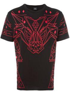 Marcelo Burlon County Of Milan geometric wolf print T-shirt