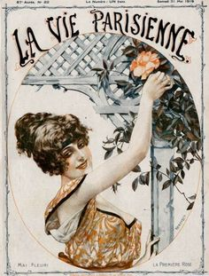 "May 1919 cover of ""La Vie Parisienne"""