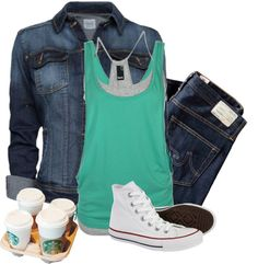 """""""Starbucks"""" by stormie-liam-payne-lover ❤ liked on Polyvore"""