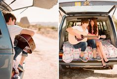 oh how sweet for little road trip and a singing boifee <3 found from 'once wed'