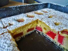 Domogród: Ciasto z rabarbarem szybkie i pulchne