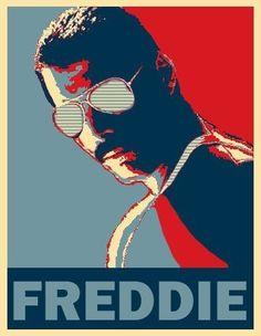 Freddie mercury Poster by LeMarck Queen Freddie Mercury, Freddie Mercury Tattoo, John Deacon, Fred Mercury, Mr Fahrenheit, Queen Poster, Pop Art Wallpaper, Queen Art, Brian May