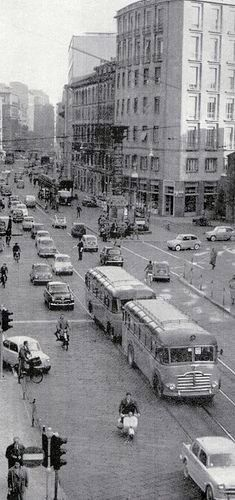 Milano - Piazza S.Babila 1950