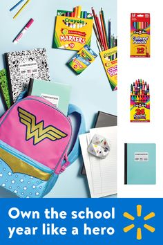 Walmart's weekly ad has everything you need to own the school year like a hero at everyday low prices. Save Money. Live Better.