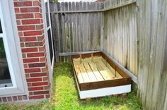 Yours Two Make - Making This House Our Own One Room At A Time : Above ground garden box project