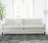York Square Arm Slipcovered Sofa