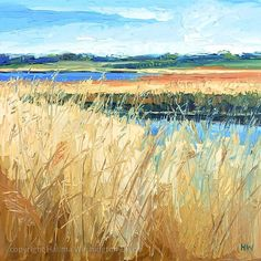 In the Calm (Snape Marshes, Suffolk) by Halima Washington-Dixon