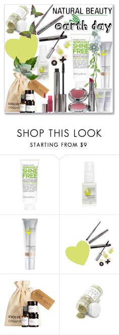 """Earth Day Essentials: All-Natural Beauty"" by slynne-messer ❤ liked on Polyvore featuring beauty, Old Navy, Juice Beauty and Forever 21"
