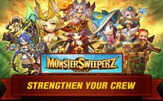 Monster Sweeperz - HD Android Gameplay - RPG Games - Full HD Video (1080p) More Full HD Android Gameplays: https://www.youtube.com/c/AndroidGamerTMG_AGTMG