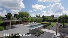 Dutch modern garden design Erik van Gelder - Tuinarchitect Tuinrealisatie Rotterdam
