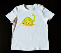 """Camiseta """"Diplodocus""""."""