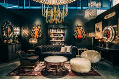3000sq ft Timothy Oulton gallery, housed in HD Buttercup. British furniture and lighting designs. Handcrafted interiors for a vintage look in your home.