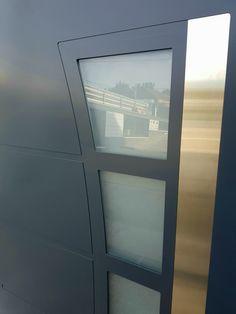 Aluminium front door ral7016 Aluminium Front Door, Doors, Frame, Home Decor, Modern Door, Picture Frame, Decoration Home, Room Decor, Frames