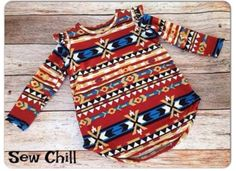 See Chill flutter tunic