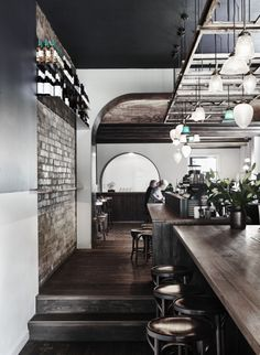 The best cafe, restaurant and bar interiors of 2015 - Vogue Living