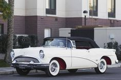 1954 Buick Skylark--notice the red wheel undercarriage? SealingsAndExpungements.com Call 888-9-EXPUNGE  (888-939-7864)  Free evaluations/ Easy payment plans 'Seal past mistakes. Open future opportunities.'