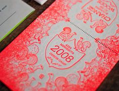 Identity and ephemera for AIGA Minnesota's 2008 Design Camp - woodsandweather.com