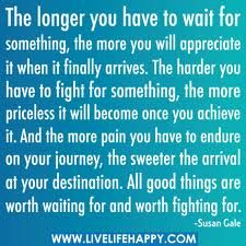 When I read this, I think about my journey to my future husband and HEAVEN!