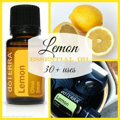 Simply Living Simply | 30 Great Uses For Lemon Essential Oil | http://simply-living-simply.com