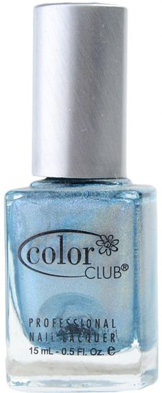 Blue Heaven (Holographic) by Color Club Spa Branding, Polish Names, Rainbow Sky, Color Club, Nails Magazine, Beautiful Lights, Holographic, Bright Colors, Something To Do
