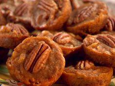 Mini Pecan Pumpkin Pies from FoodNetwork.com