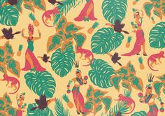 Samba - Tropical Lemonade by Saint Kilda, via Behance