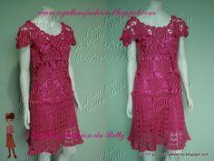 Agulhas Fashion da Patty: Vestido Sahila em seda