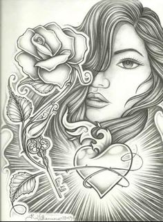 Chicano Art Coloring Pages Chicano arte ChIcAno pRiDe Chicano art Lowrider art