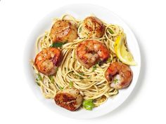 Shrimp and Scallop Scampi with Linguine recipe from Food Network Kitchen via Food Network