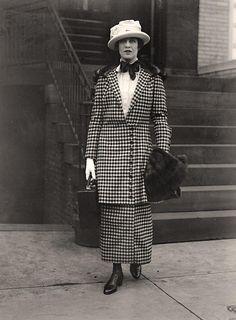 Marquise Melchior de Polignac, née Nina Floyd Crosby, 1918