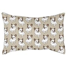 #The Adorable Fawn Pied Frenchie Pet Bed - #bulldog #puppy #bulldogs #dog #dogs #pet #pets