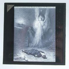 Nurse Edith Cavell's execution Magic Lantern Slide