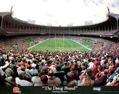 these people look a little too calm to be our Dawg Pound! Cleveland Skyline, Cleveland Ohio, Cleveland Browns, Cleveland Indians, Rock Hall Of Fame, Jacobs Field, Brian Hoyer, Image Rock, Football Love