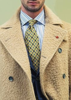 "suitedbooted: "" (Via: iqfashion.tumblr.com) Isaia - F/W 2015-2016 Source: wwd.com Shop the look http://is.gd/KeXJxR """